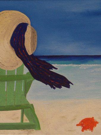 Beach Life I (10″ x 20″) $135